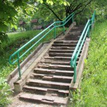 «Альтернатива» добивается от столичных властей ремонта пешеходных лестниц