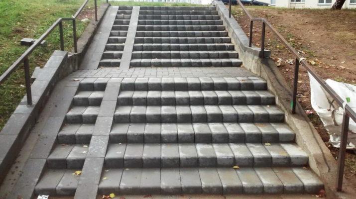 Лестница на Каменной Горке