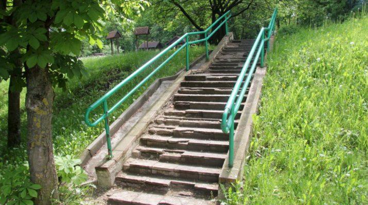 Ремонт пешеходных лестниц