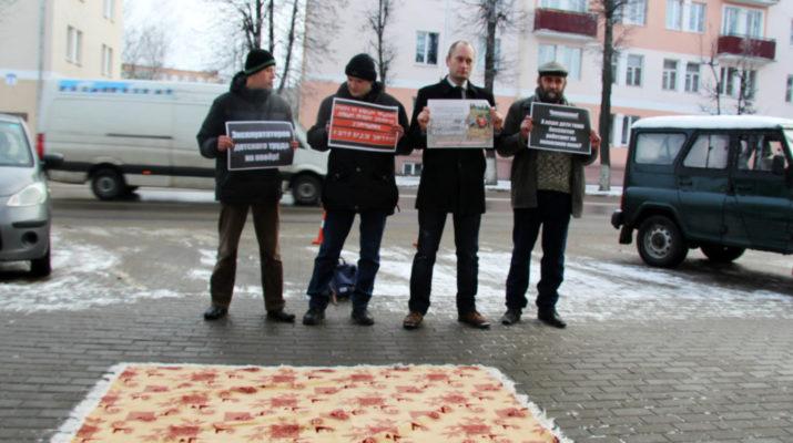 Активисты «Альтернативы» вызвали «на ковер» главу Молодеченского райисполкома