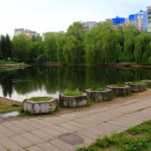 За ремонт и благоустройство Тучинского сквера в Минске!