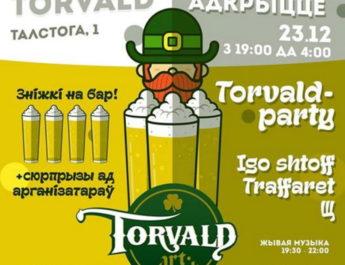 Открытие art-pab Torvald в Витебске