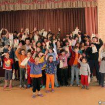 Дабрачынная акцыя для дзяцей Рудзенскай школы-інтэрната