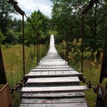 Чудо инженерии: подвесные мосты в Беларуси