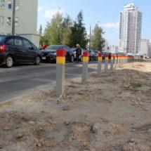 Столбикоизация спальных районов Минска продолжается (Фотофакт)