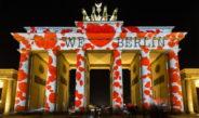 Как проходит фестиваль света в Берлине
