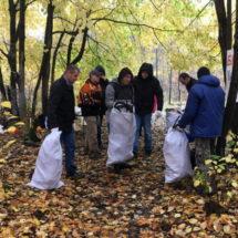 День добровольной уборки в экотропе «Медвежино»
