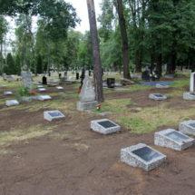 На Военном кладбище в Минске началась беспощадная реставрация