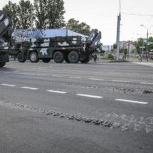 Минск после парада