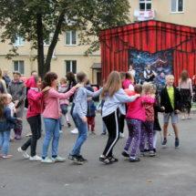 Как на Тракторозаводском посёлке в Минске проводили «Праздник двора»