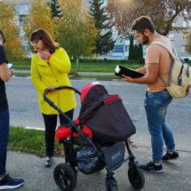 Чашникам – мобильные современные пешеходные дороги!
