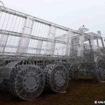 В Минске установили очередную светящуюся скульптуру