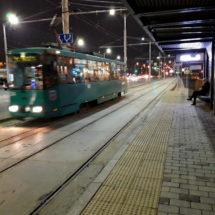 Теперь на столичный вокзал можно добраться и на трамвае