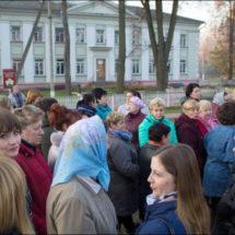 В Богушевске местные жители борются за сохранение больницы