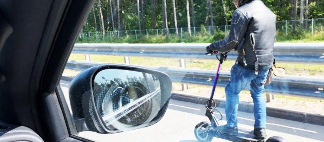 Для езды на самокате придётся сдавать на права