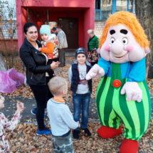 В Осиповичах состоялся очередной Праздник двора, фотофакт