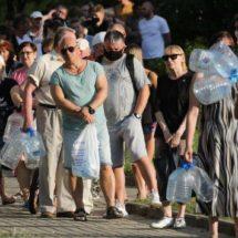 В Минске вот уже второй день катастрофа питьевой воды