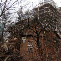 Последние фрагменты старого квартала накануне сноса