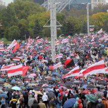 Каким был марш по случаю инаугурации Светланы Тихановской