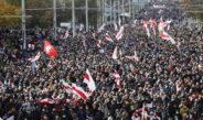 Очередное воскресенье и снова в Беларуси массовые акции протеста