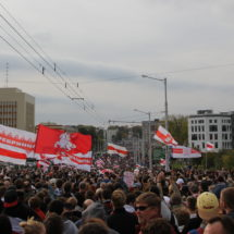Водомёт-кит и массовое шествие к Окрестина — каким был марш Освобождения