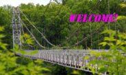 Так выглядае самы доўгі пешаходны мост у Беларусі